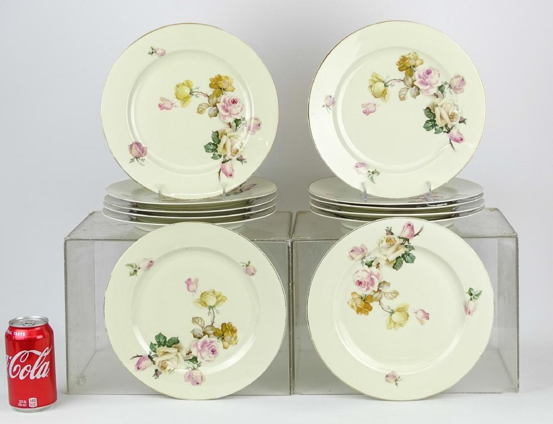 Set (12) Bavarian Plates