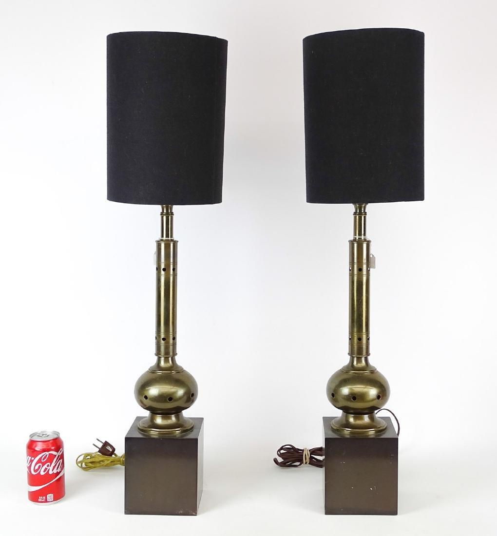 Pair Mid Century Lamps