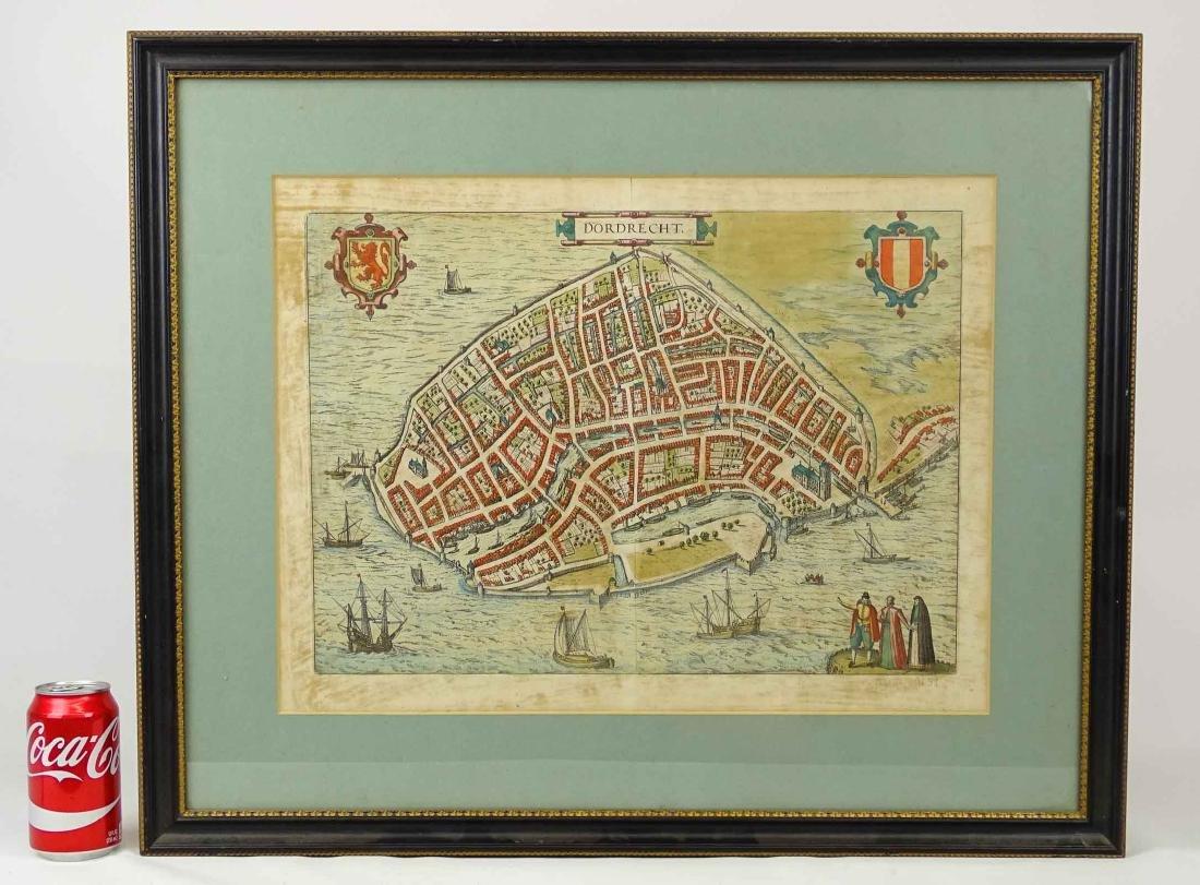 """Early Map """"DORDRECHT"""""""