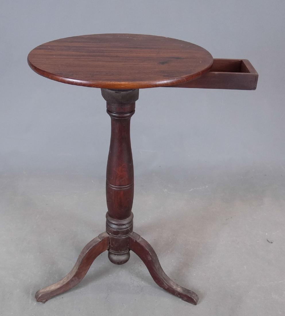 19th c. Candlestand - 4