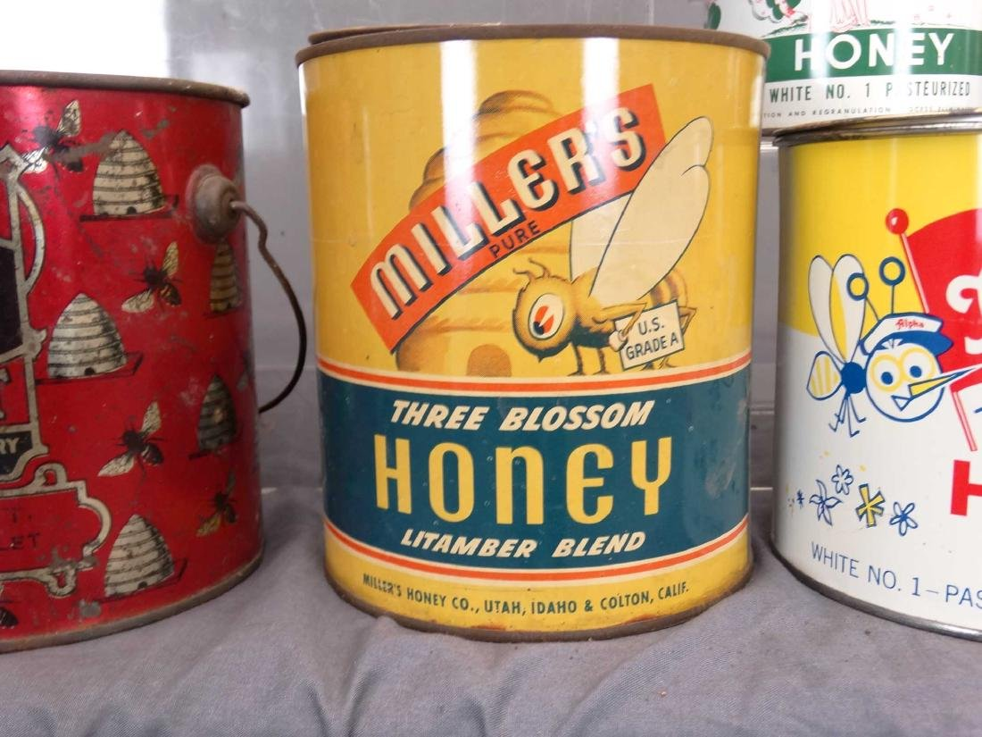 Collection Of Tins - 4