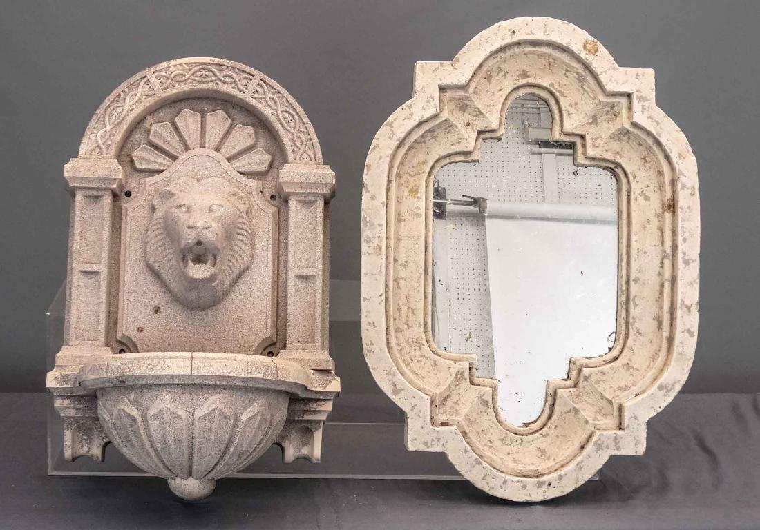 Fiberglass Lavabo & Mirror