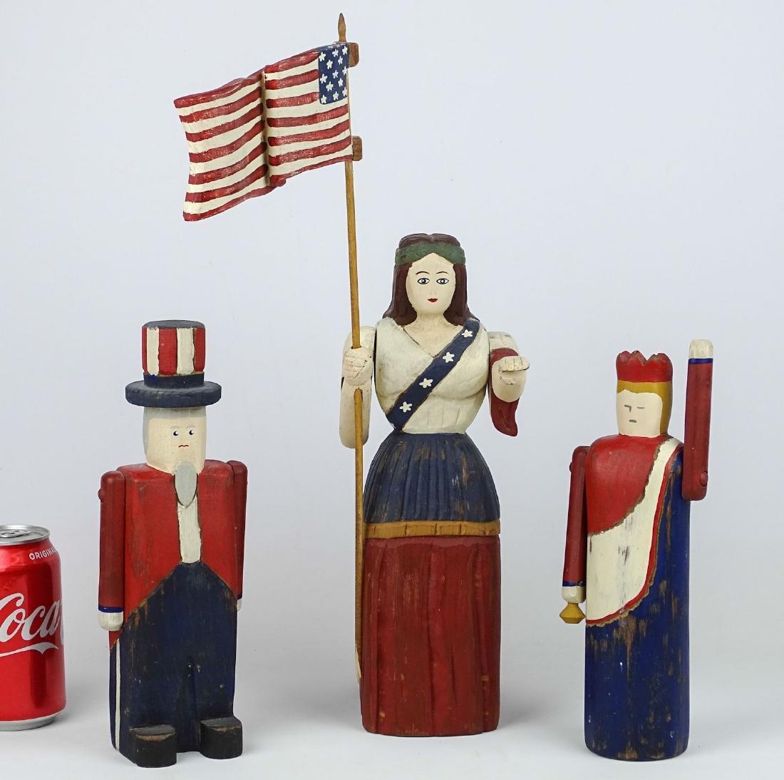 Patriotic Carvings