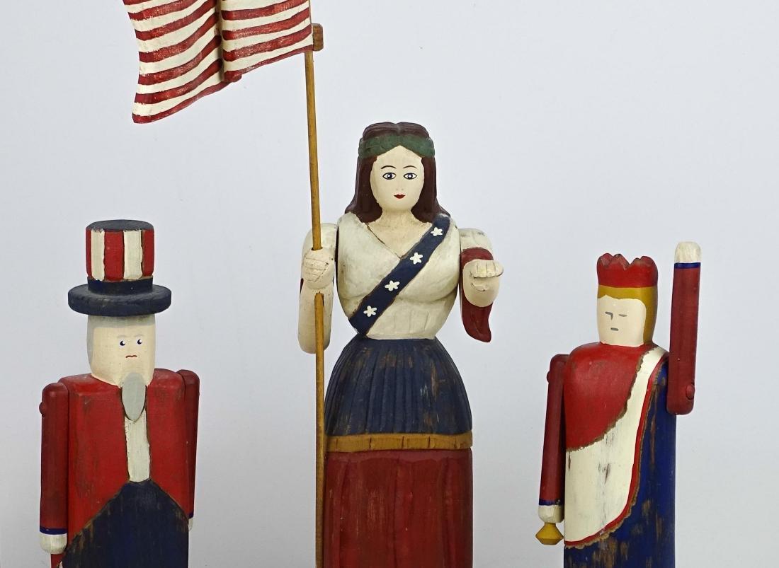 Patriotic Carvings - 2