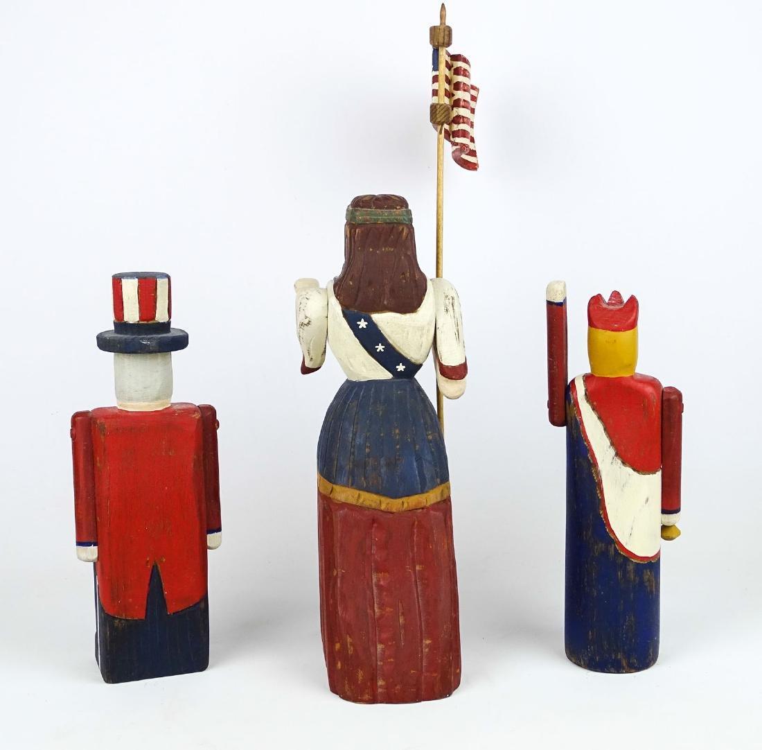 Patriotic Carvings - 3