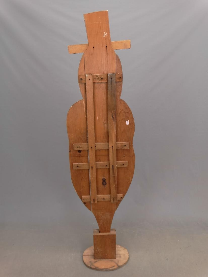 Uncle Sam Wooden Figure - 2