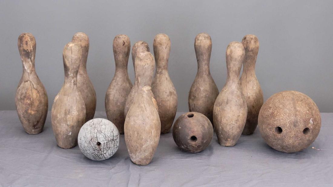 Wooden Bowling Pins