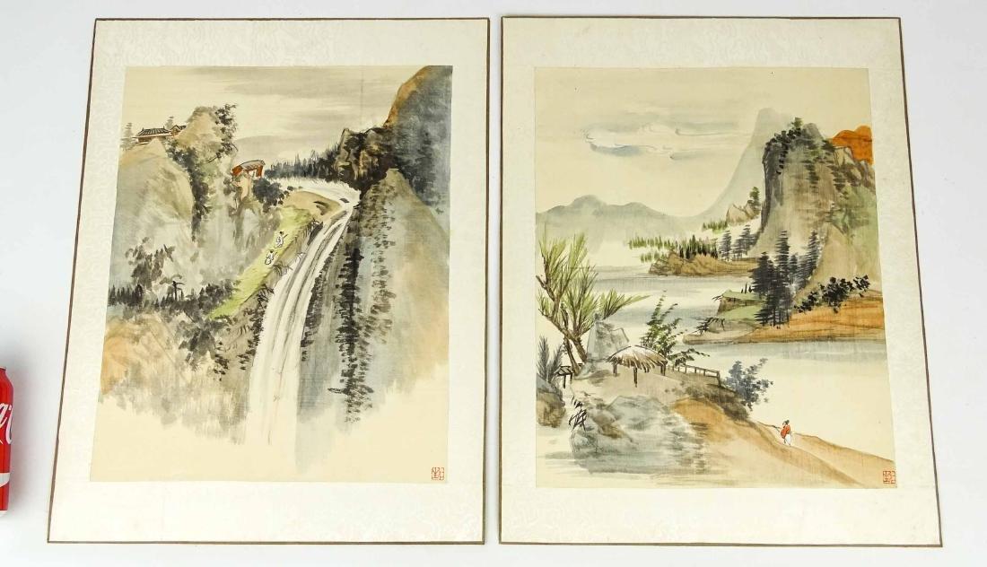Asian Watercolors