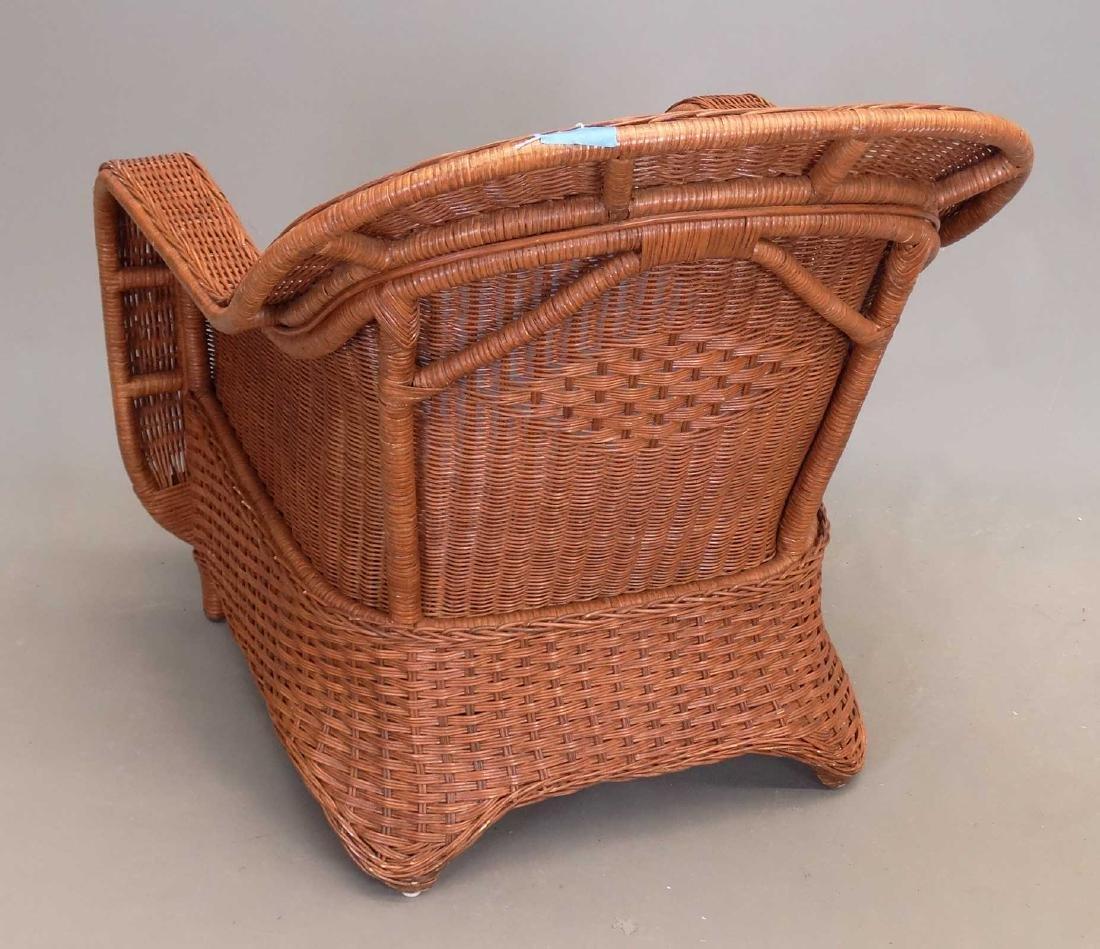 Crate & Barrel Umbrella, Chair & Ottoman - 4