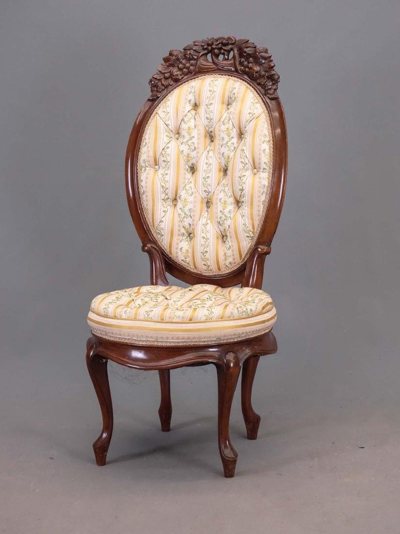 Belter Style Victorian Chair