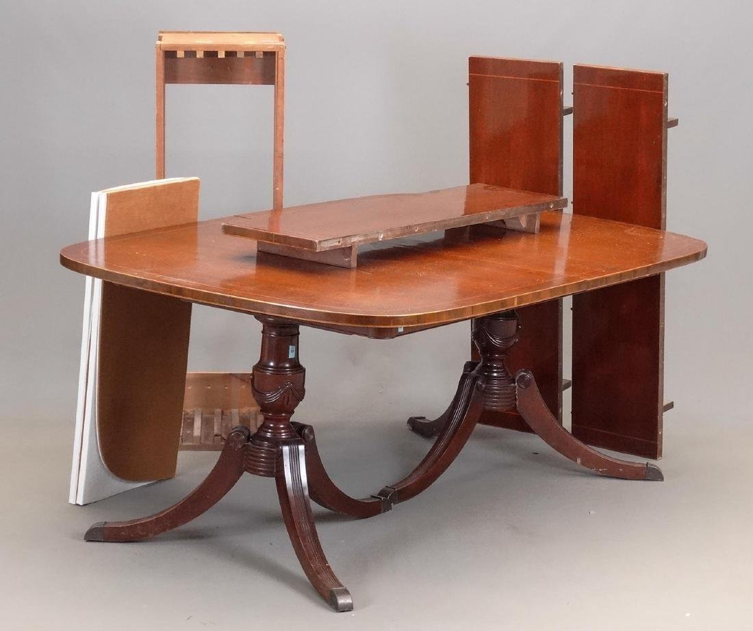 Drexel Double Pedestal Dining Table