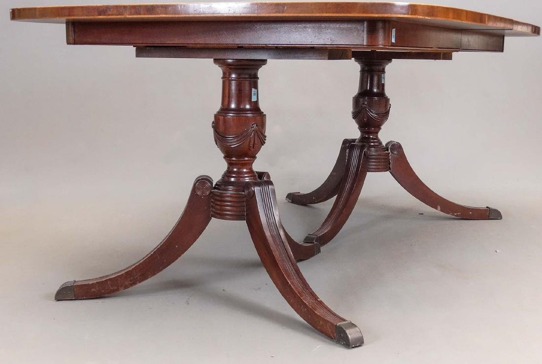 Drexel Double Pedestal Dining Table - 4