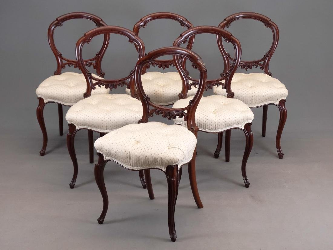 Set of 19th c. Victorian Chairs
