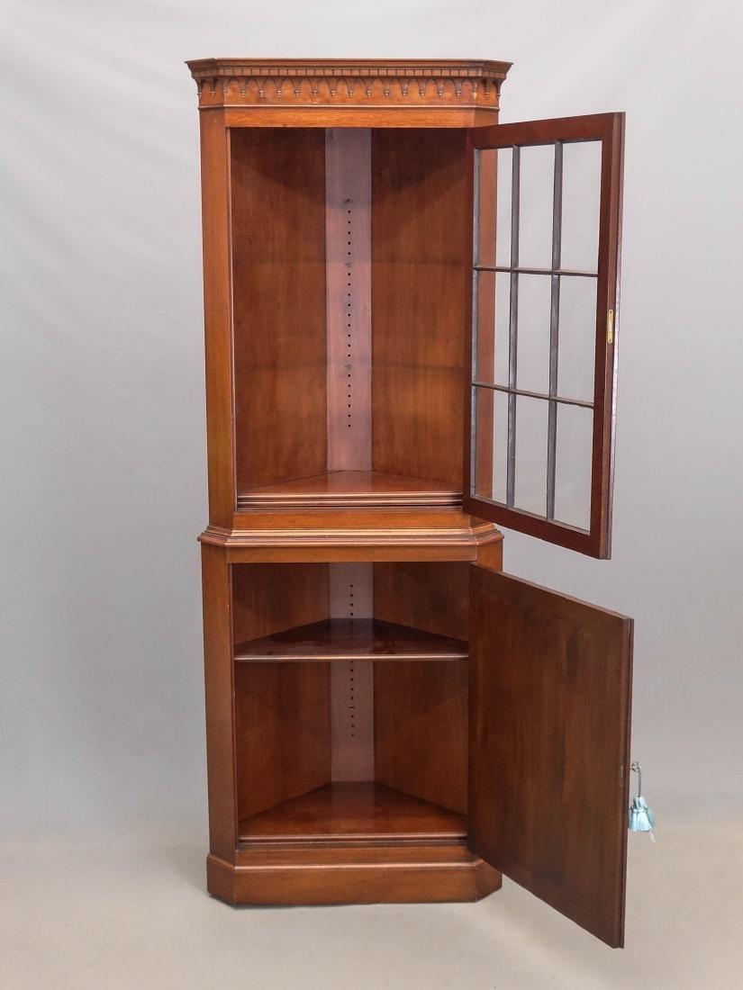Mahogany Corner Cupboard - 2