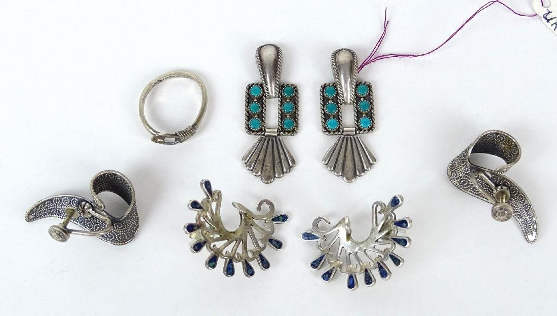 Sterling Silver Jewelry Lot - 9