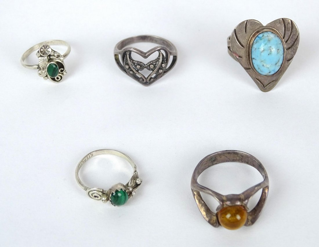 Sterling Silver Jewelry Lot - 2