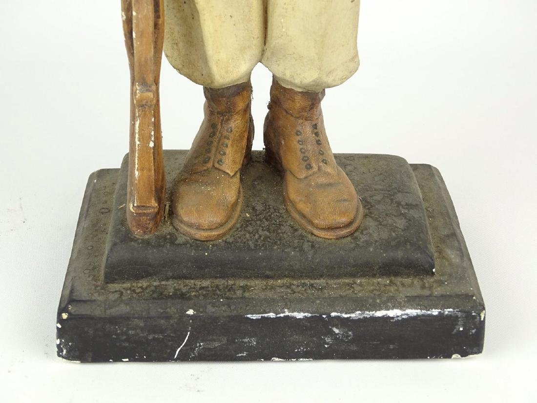 Chalkware Statue Of Soldier - 7