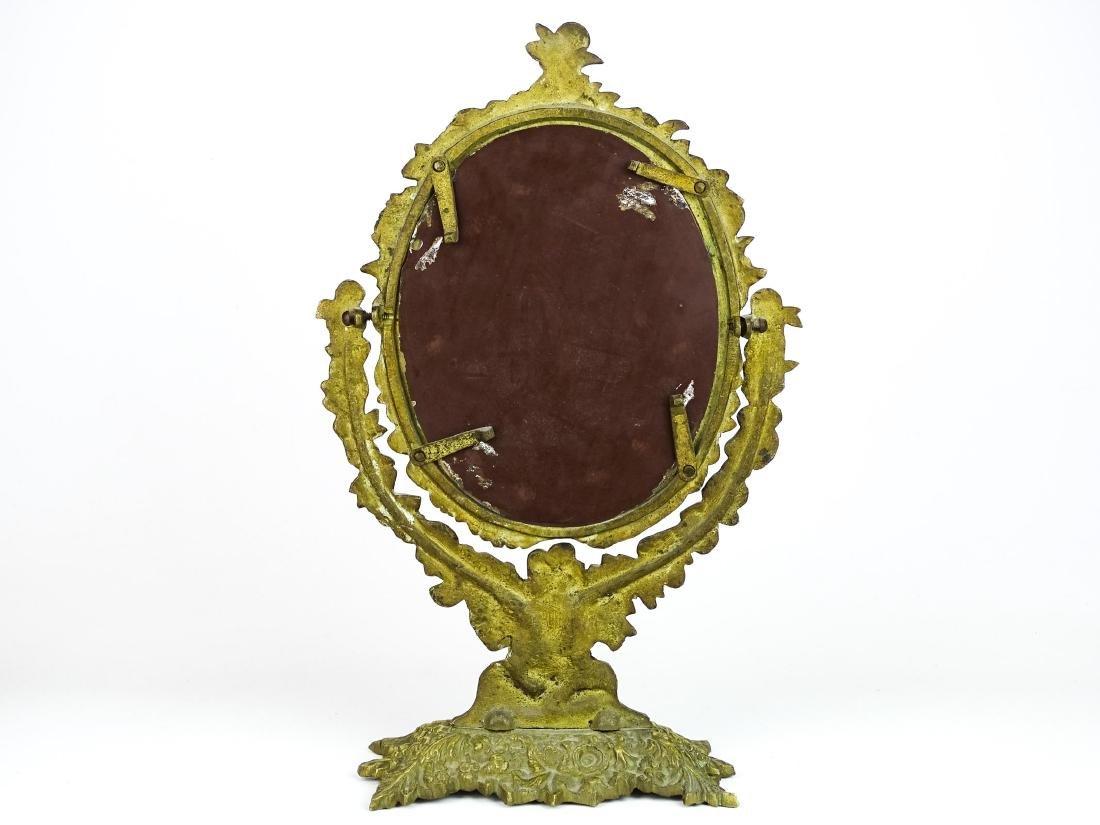 Brass Vanity Mirror - 2