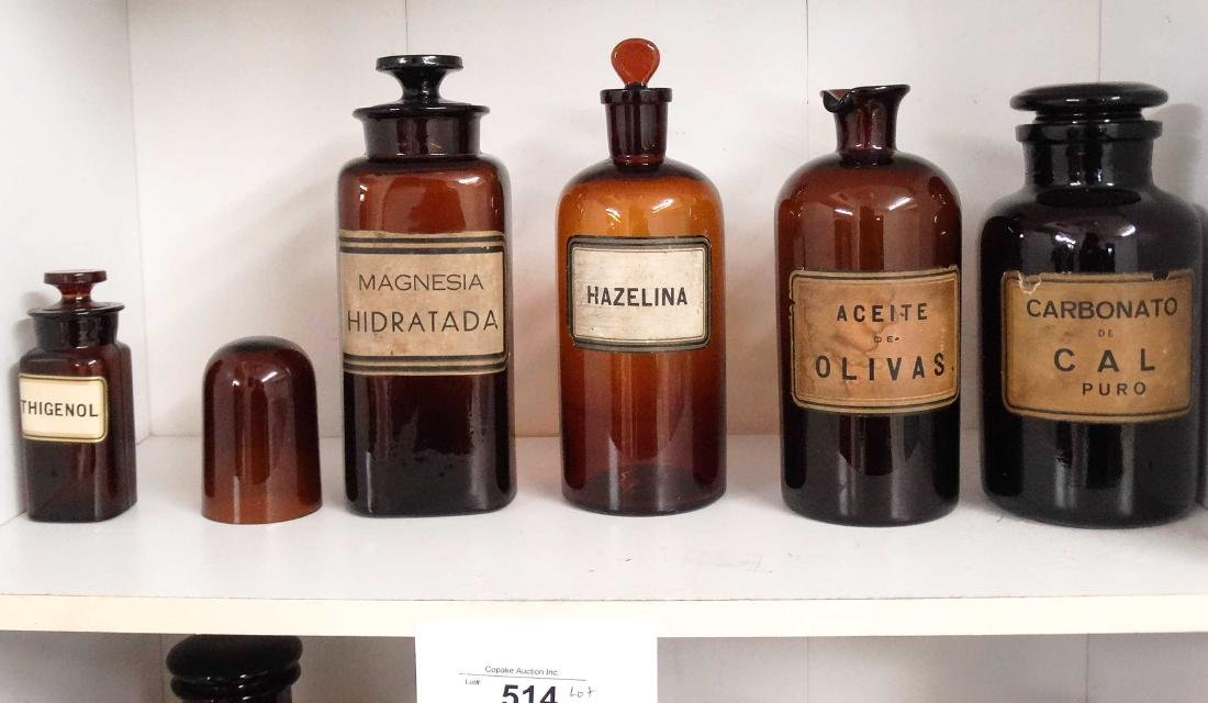 Apothecary Bottles - 3