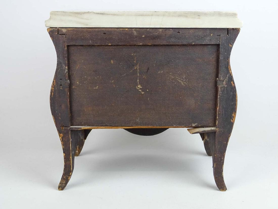 Miniature French Marble Top Dresser - 10