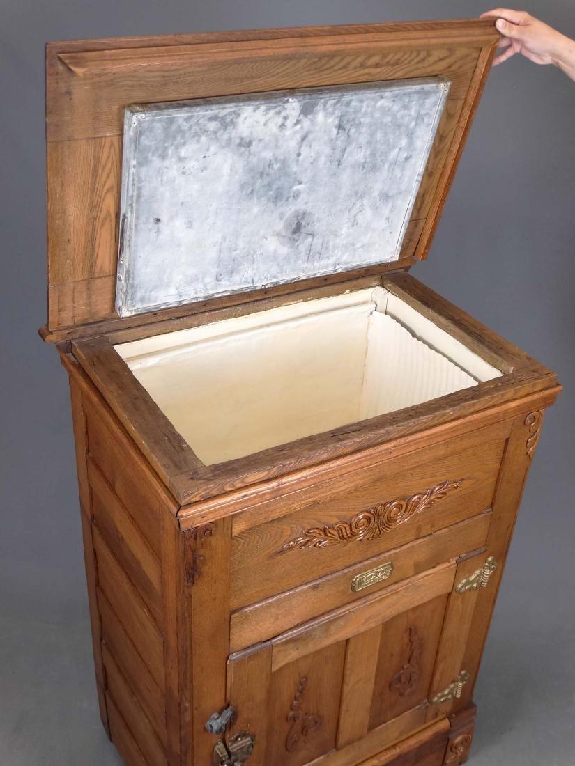 Oak Ice Box - 3