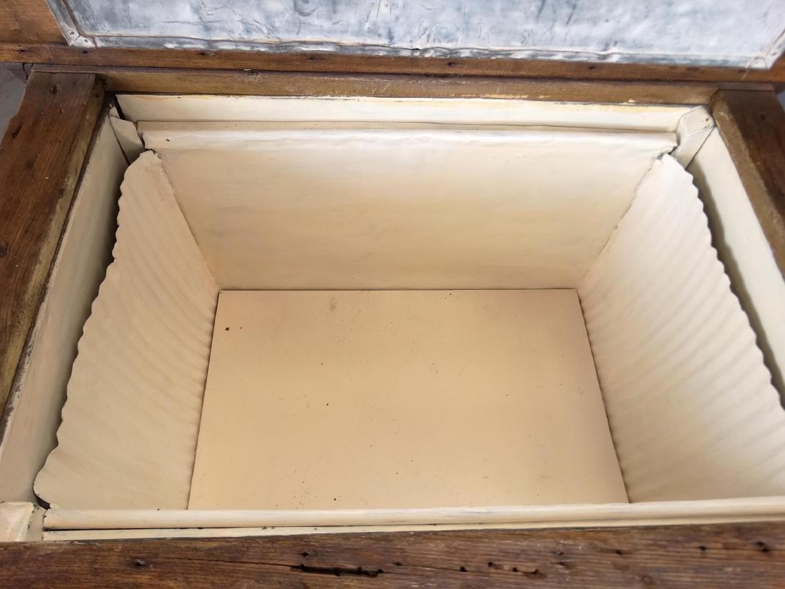 Oak Ice Box - 4