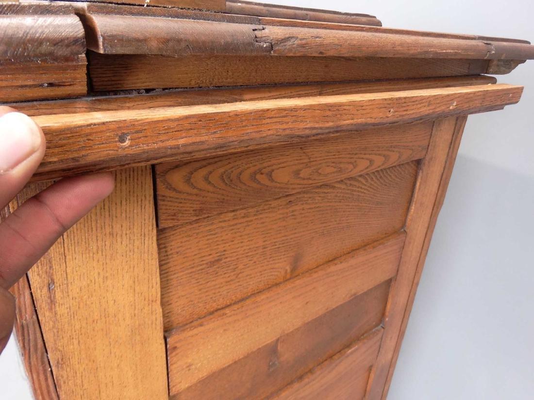 Oak Ice Box - 7