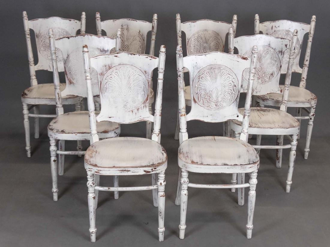 Set of Anthropologie Dining Chairs