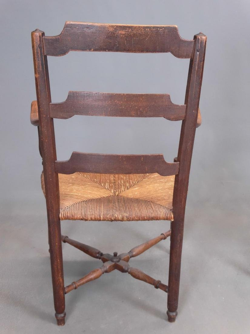 Pair French Armchairs - 4