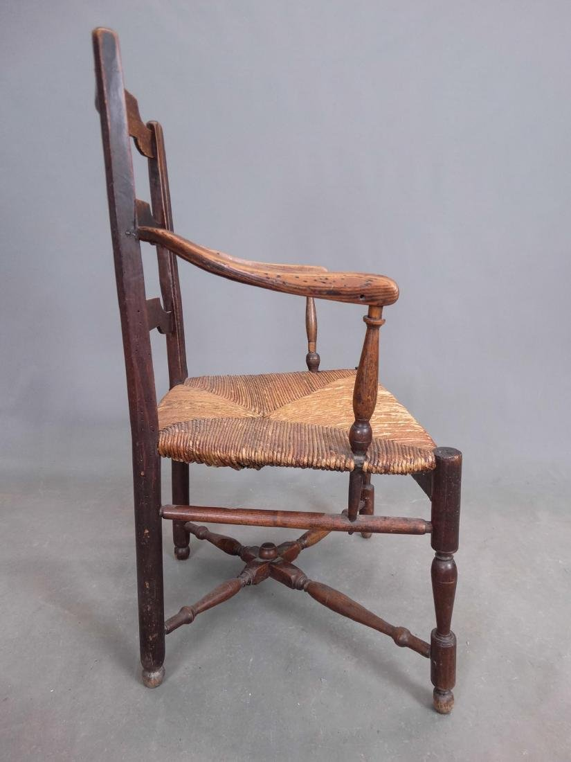 Pair French Armchairs - 5