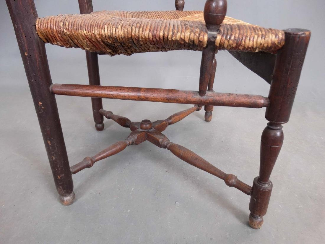 Pair French Armchairs - 6