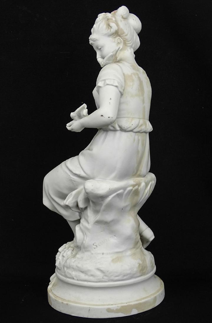 Parianware Statue - 2