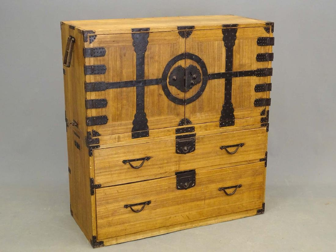 Tansu Chest On Cabinet