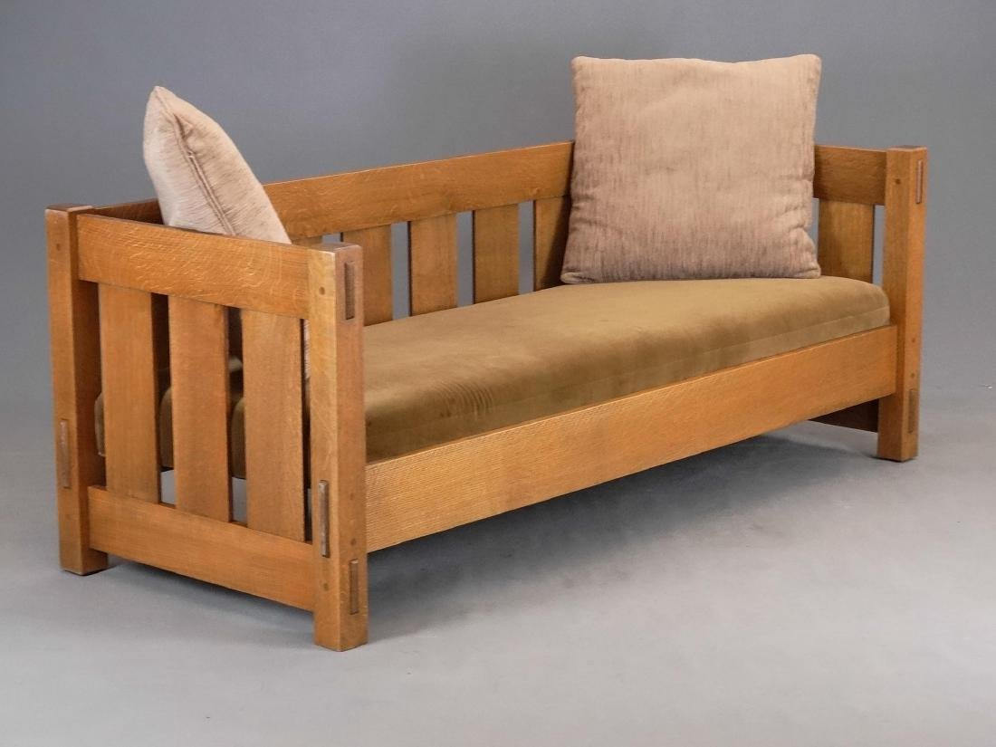 Warren Hile Studio Arts & Crafts Settee
