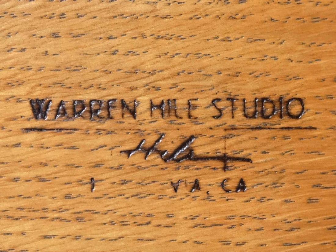 Warren Hile Studio Arts & Crafts Settee - 4