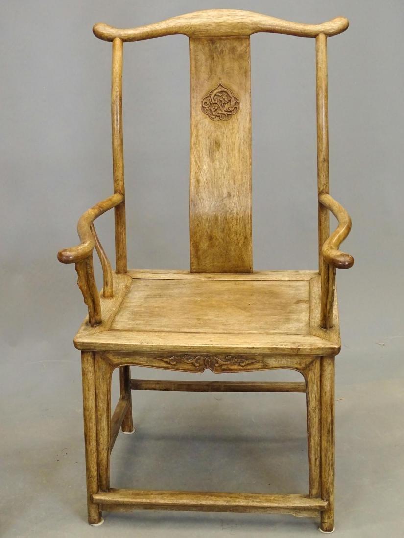 Pair Asian Armchairs - 2