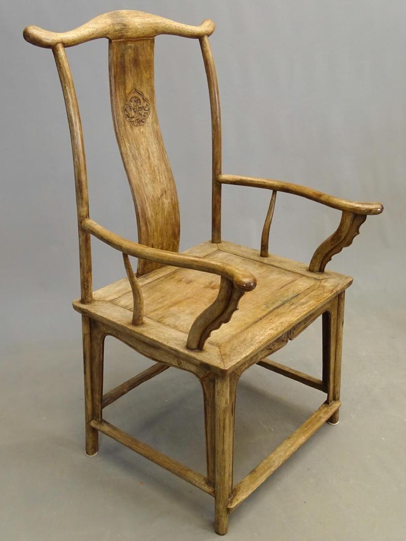 Pair Asian Armchairs - 4