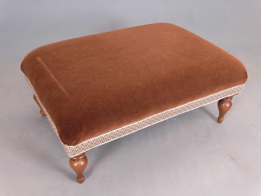 Upholstered Ottoman - 2