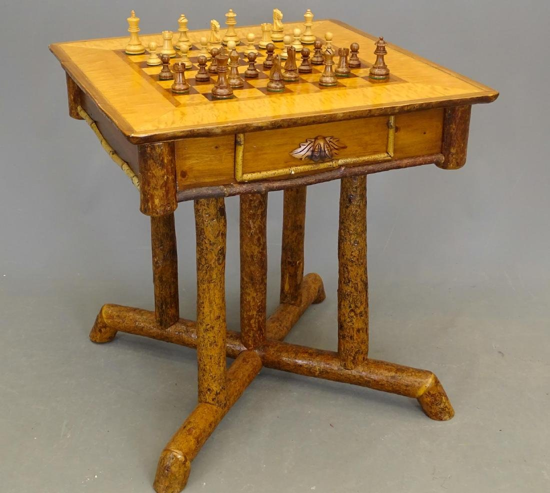 Adirondack Game Table
