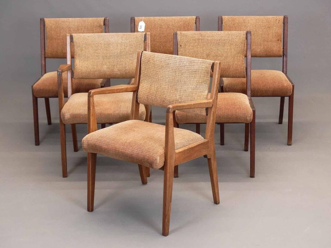 Set Of (6) Danish Modern Chairs