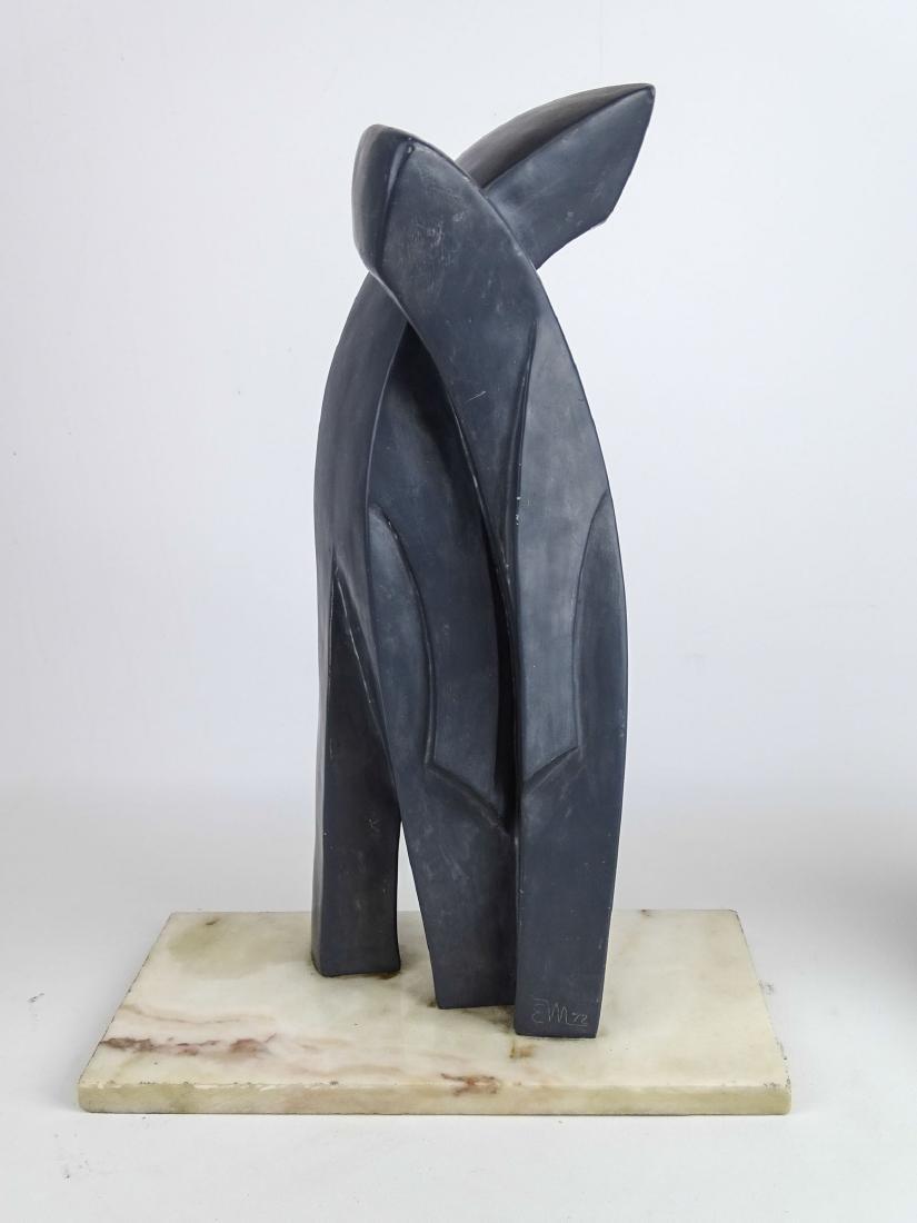 E. Margenau (2) Sculptures