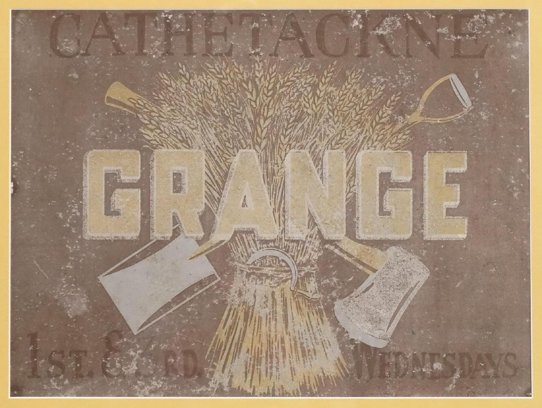 Grange Sign - 2
