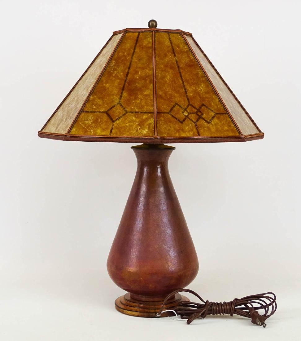Arts & Crafts Style Lamp - 2