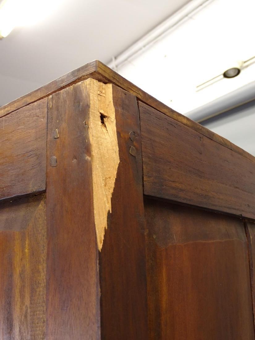 Mahogany Corner Shelf - 4