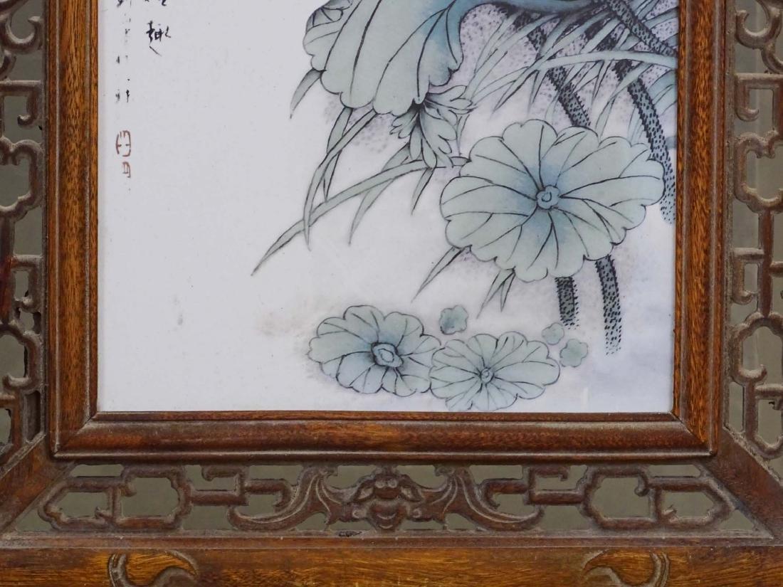 Pair Chinese Panels - 7