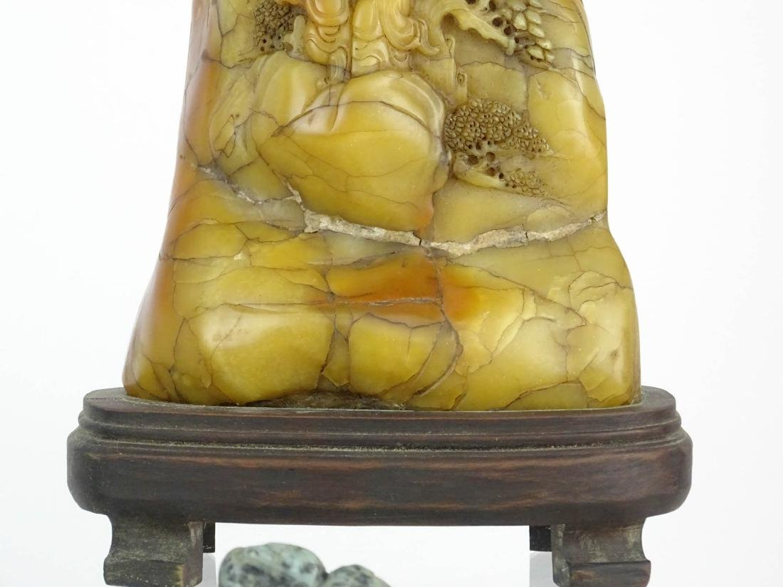 Asian Carved Stone Lot - 4