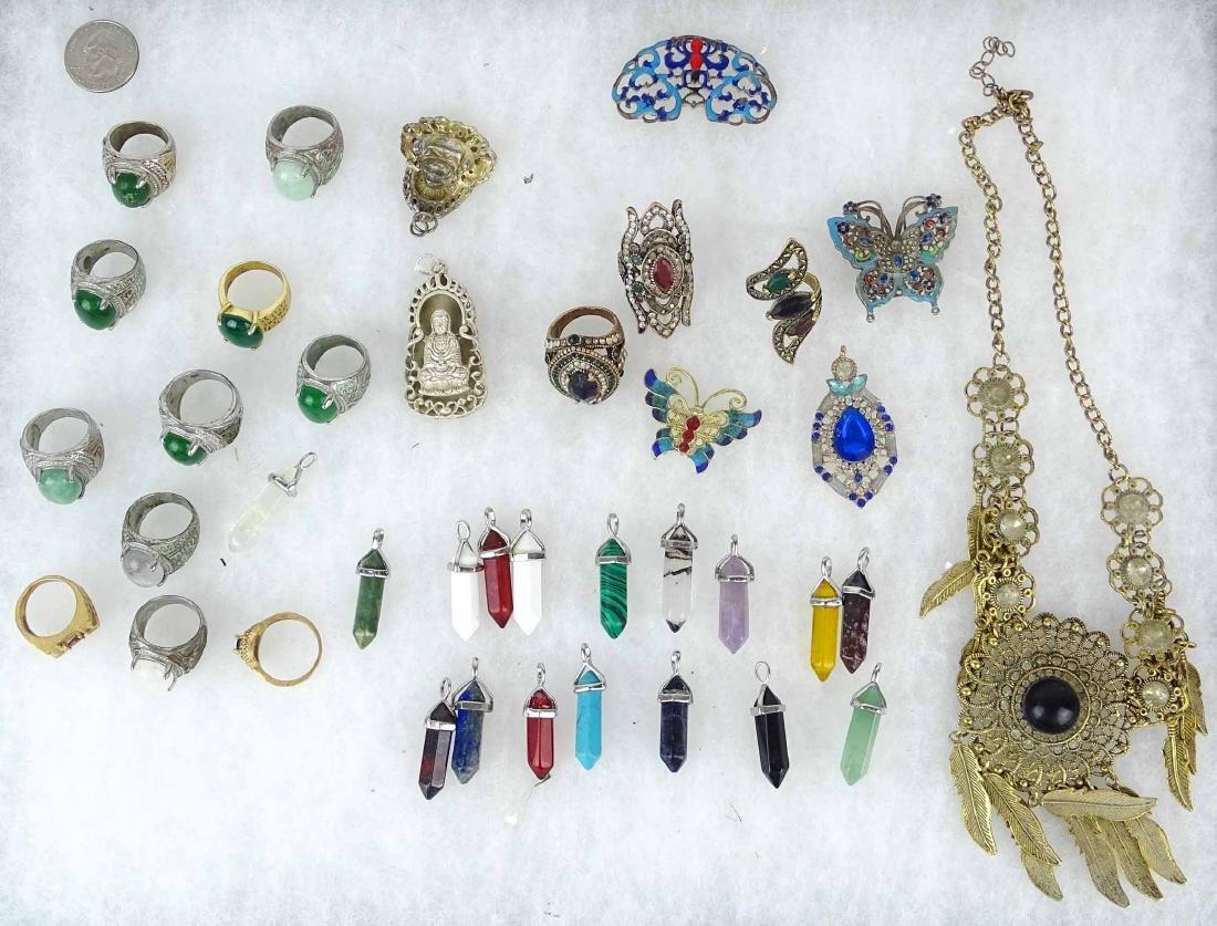 Asian Jewelry Lot