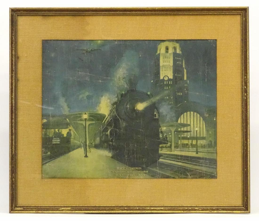 Early Train Print