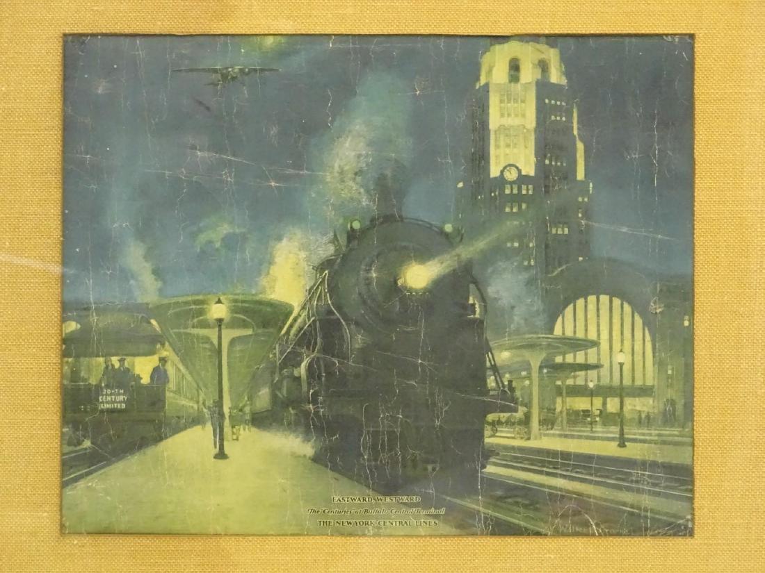 Early Train Print - 2