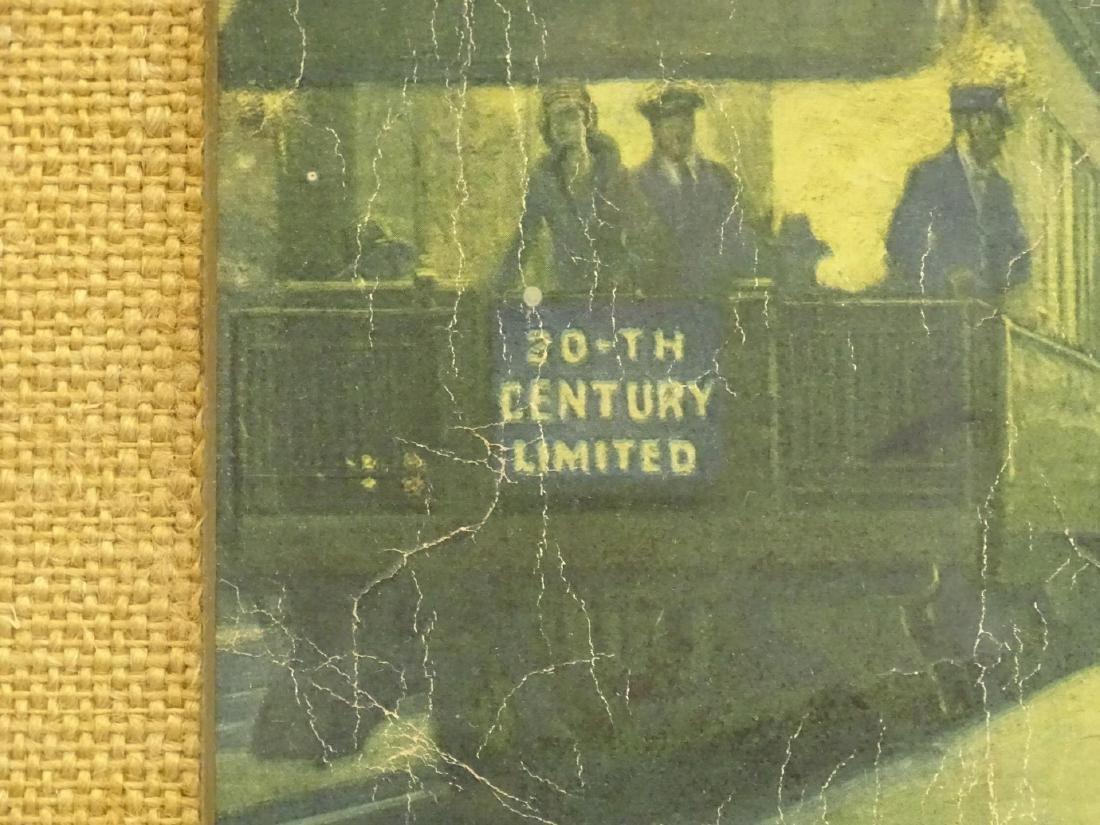 Early Train Print - 7